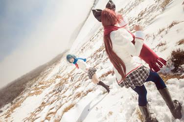 Snow Fight by pireze