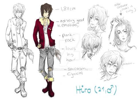 Hiro Character Sheet