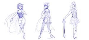 Superhero Disney Princesses