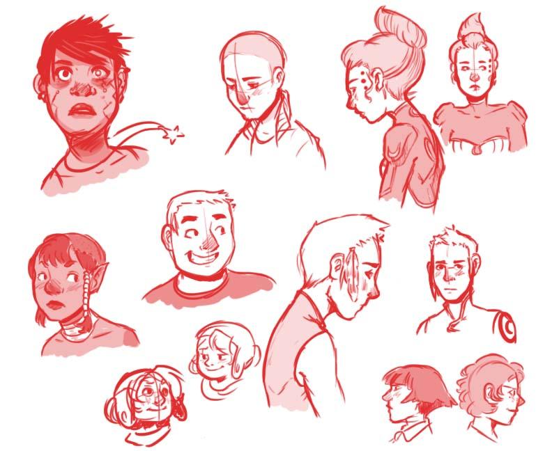 Doodle Art Character Design : Doodle dump character design homework by deathbybacon on