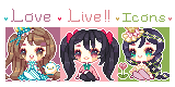 FREE TO USE* LOVE LIVE! ICONS by Sueweetie