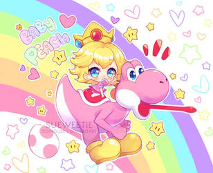 [+Video] BABY PEACH and YOSHI by Sueweetie