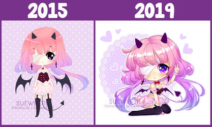 [+Video] 2015 - 2019 REDRAW by Sueweetie