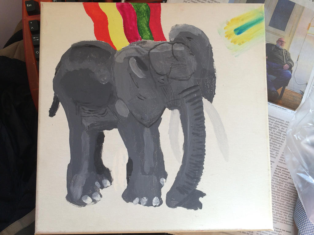 WIP: The Elephant by MIB4u
