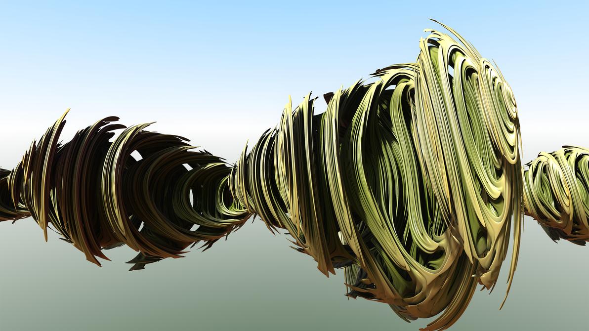 The Golden Bridge of Escher's Curves by MIB4u