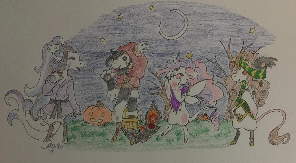 { garpg } Hallowbean Festival Pisum ToT 1 by Sarenidy