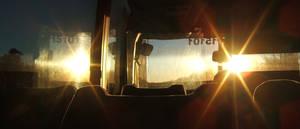 Sun's Reflection