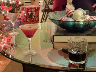 Raise a Glass for Christmas by KewlioMZX