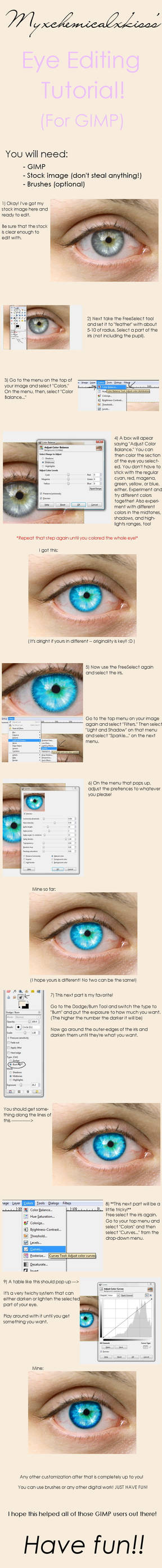 GIMP Eye Tutorial