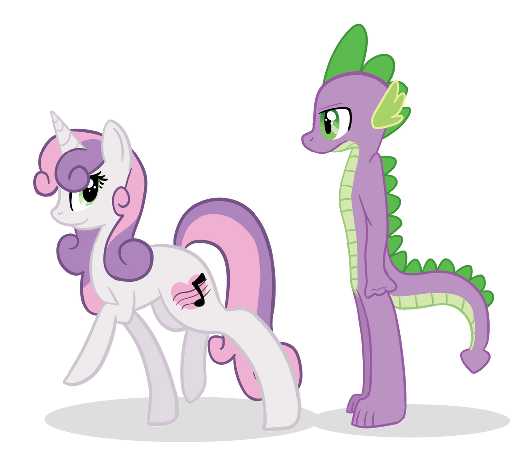Sweetie Spike by XxUnicornForeverxX