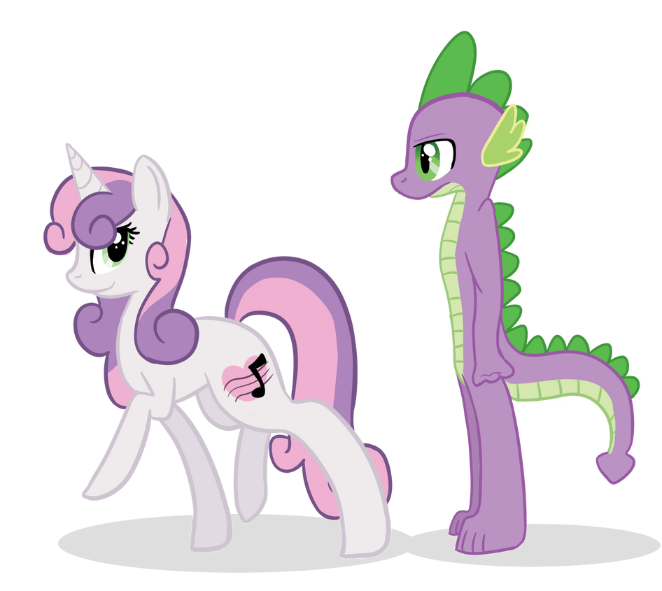 Sweetie Spike by XxUnicornForeverxX