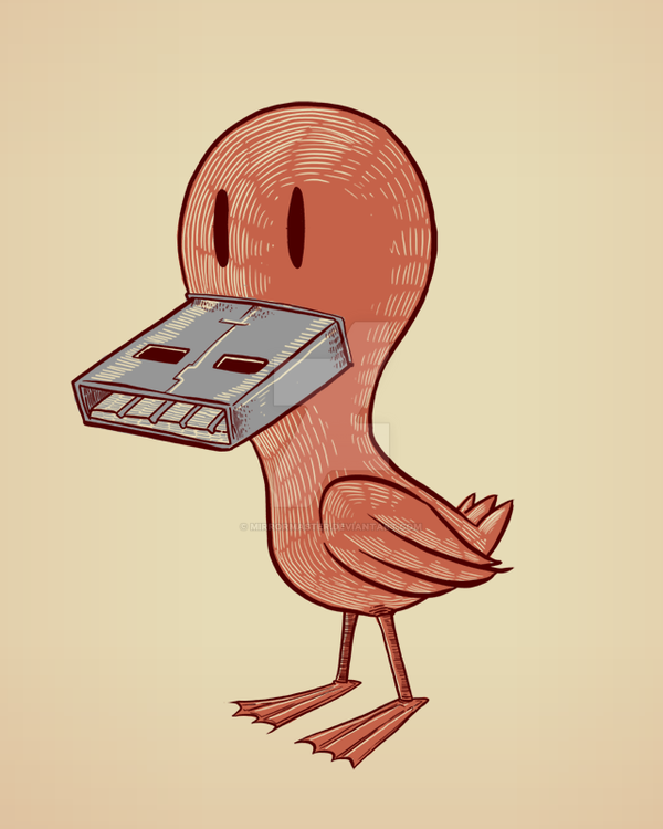 Universal Serial Duck by MIRRORMASTER