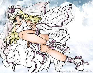 COMMISSION angelic emergence by Shadako26