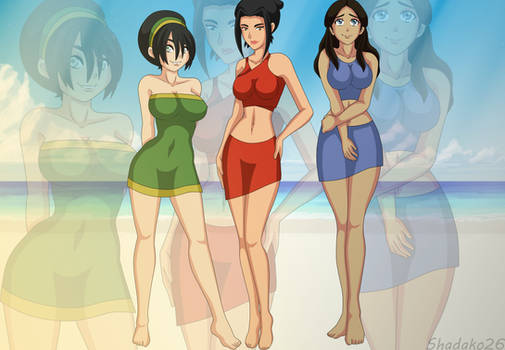 Avatar Girls//Summer Wear