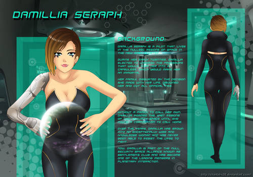 COMMISSION Damillia Character Sheet