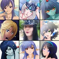 ART vs ARTIST meme thingie :3 by Shadako26