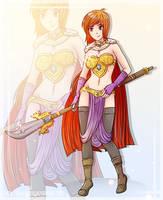 COMMISSION//The warrior Princess by Shadako26
