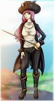 PATREON REQUEST//Captain Rose by Shadako26
