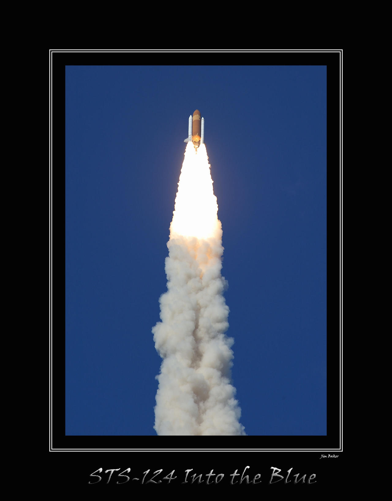 STS-124, Into the Blue by OpticaLLightspeed