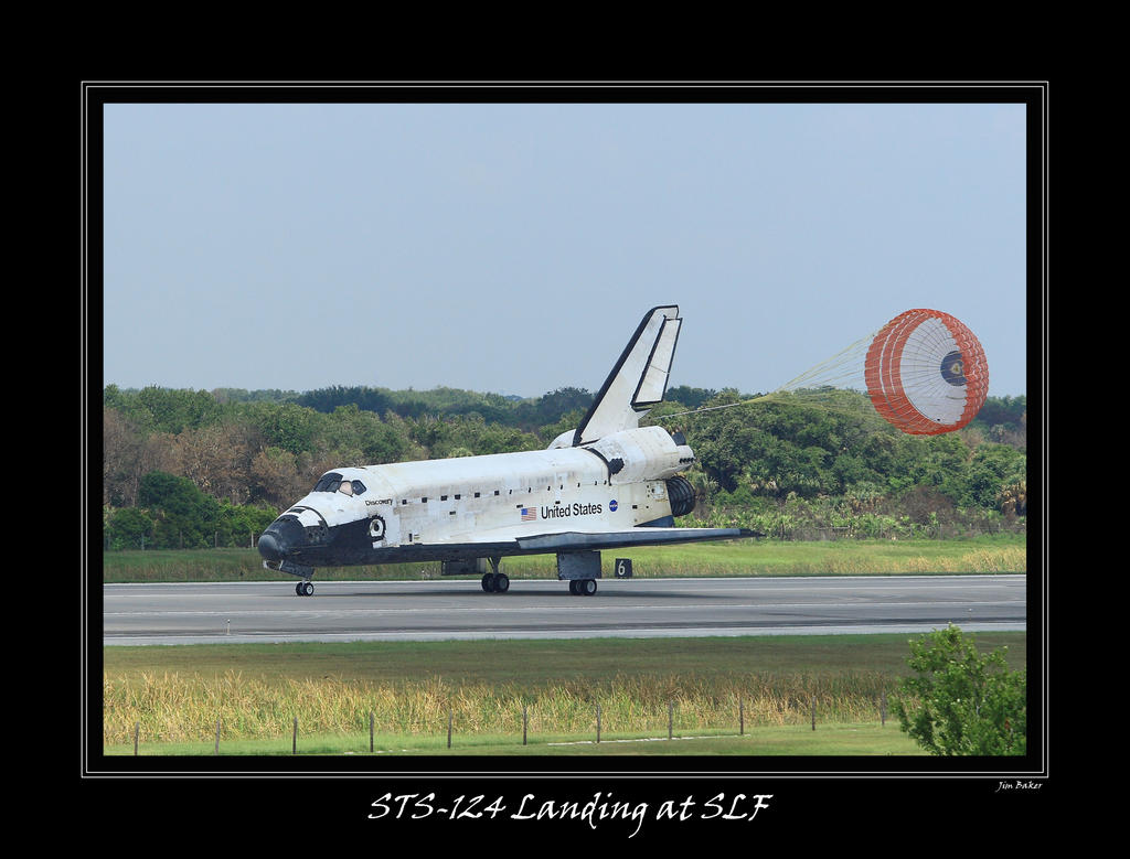 STS-124 Landing at SLF by OpticaLLightspeed