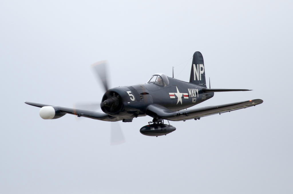 Collings Foundation Corsair by OpticaLLightspeed