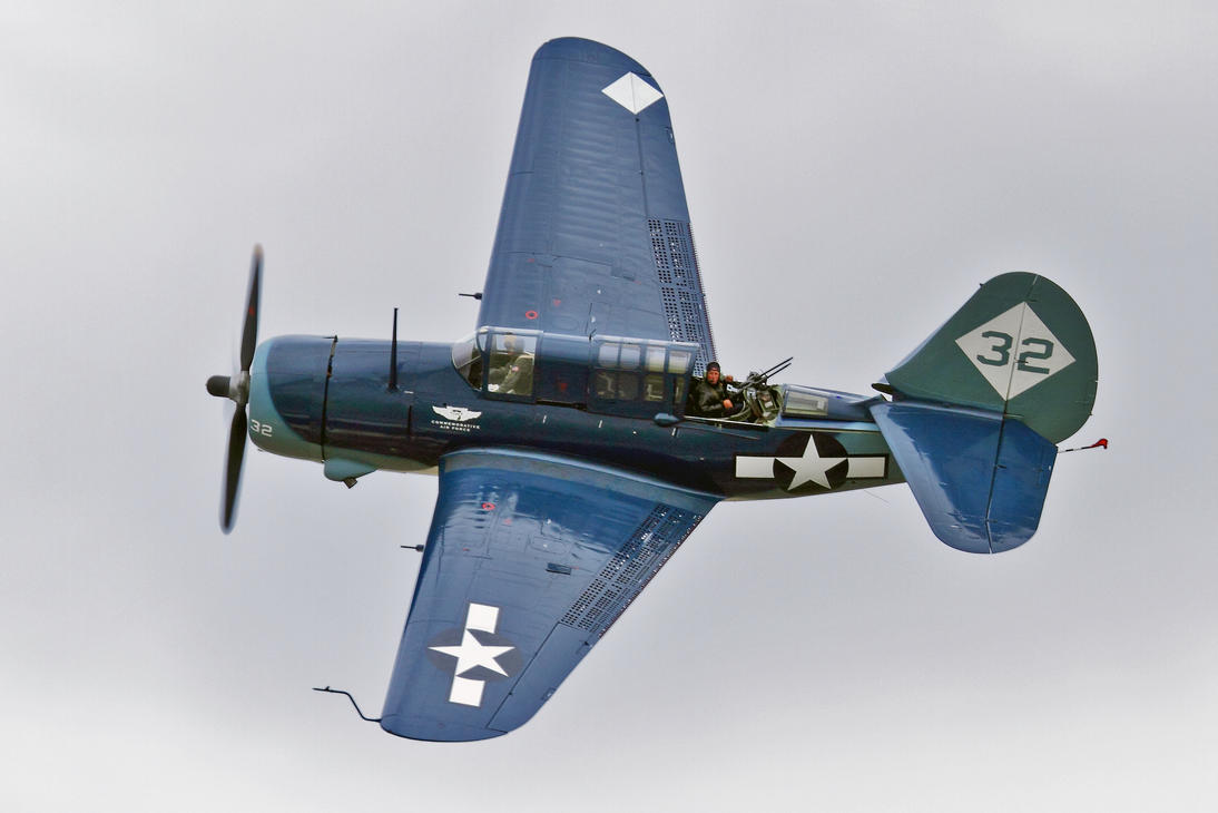 Curtis SB2C-5 Helldiver (Updated) by OpticaLLightspeed