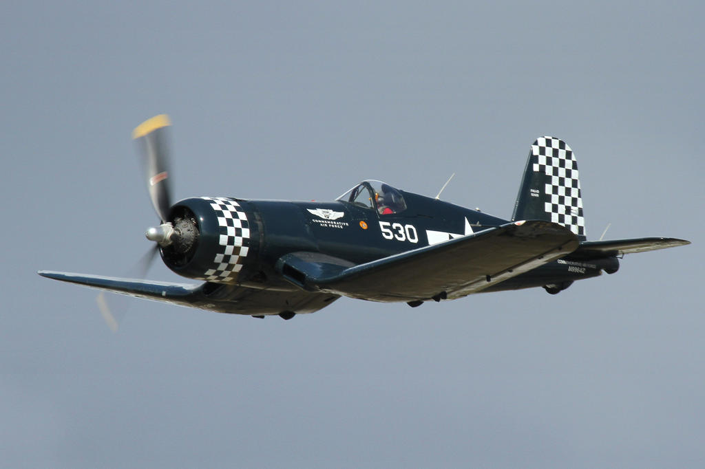 F4U-1D Corsair (Revised) by OpticaLLightspeed
