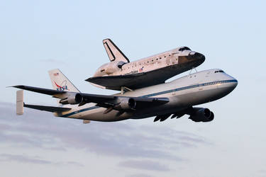 Discovery's Final Fly-over