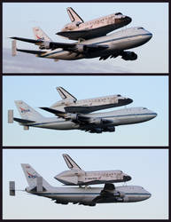 Discovery Triptych by OpticaLLightspeed