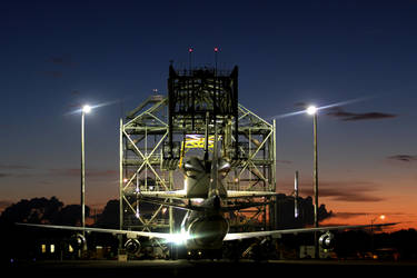 Sunrise over Endeavour by OpticaLLightspeed