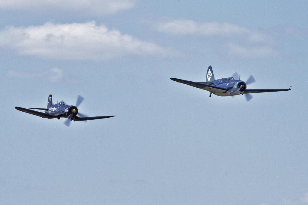 Corsair and Helldiver Duet by OpticaLLightspeed