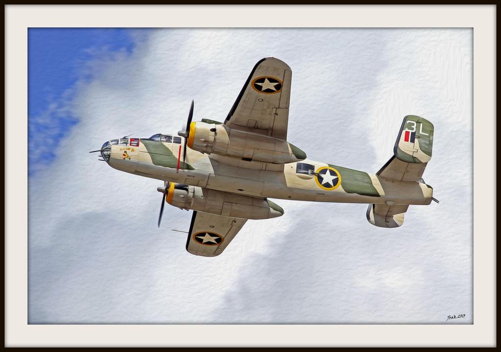 B-25 Killer B by OpticaLLightspeed