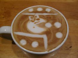 Ms. Pac-man Latte v.2 by MonkDrew