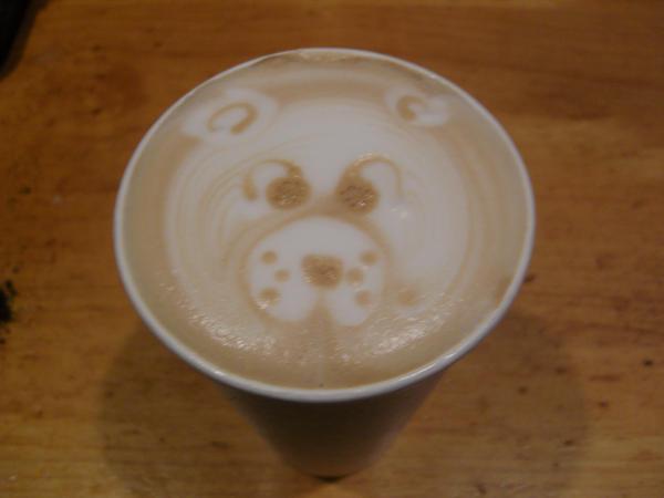 Bear Latte by MonkDrew