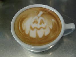 Jack-O-Latte by MonkDrew