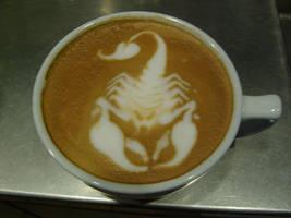 Scorpion Latte by MonkDrew