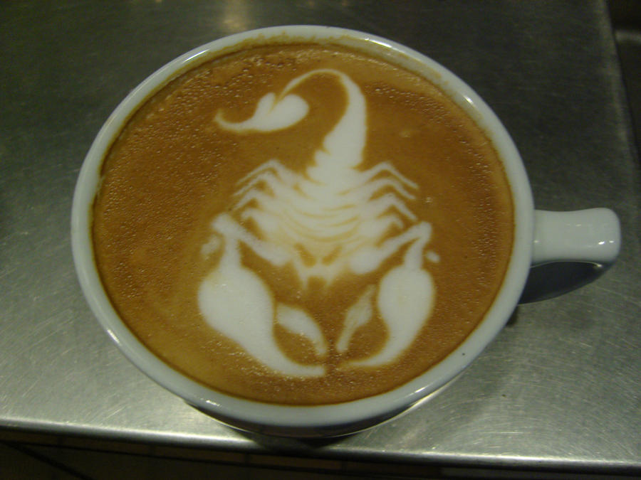 Scorpion Latte by MonkDrew