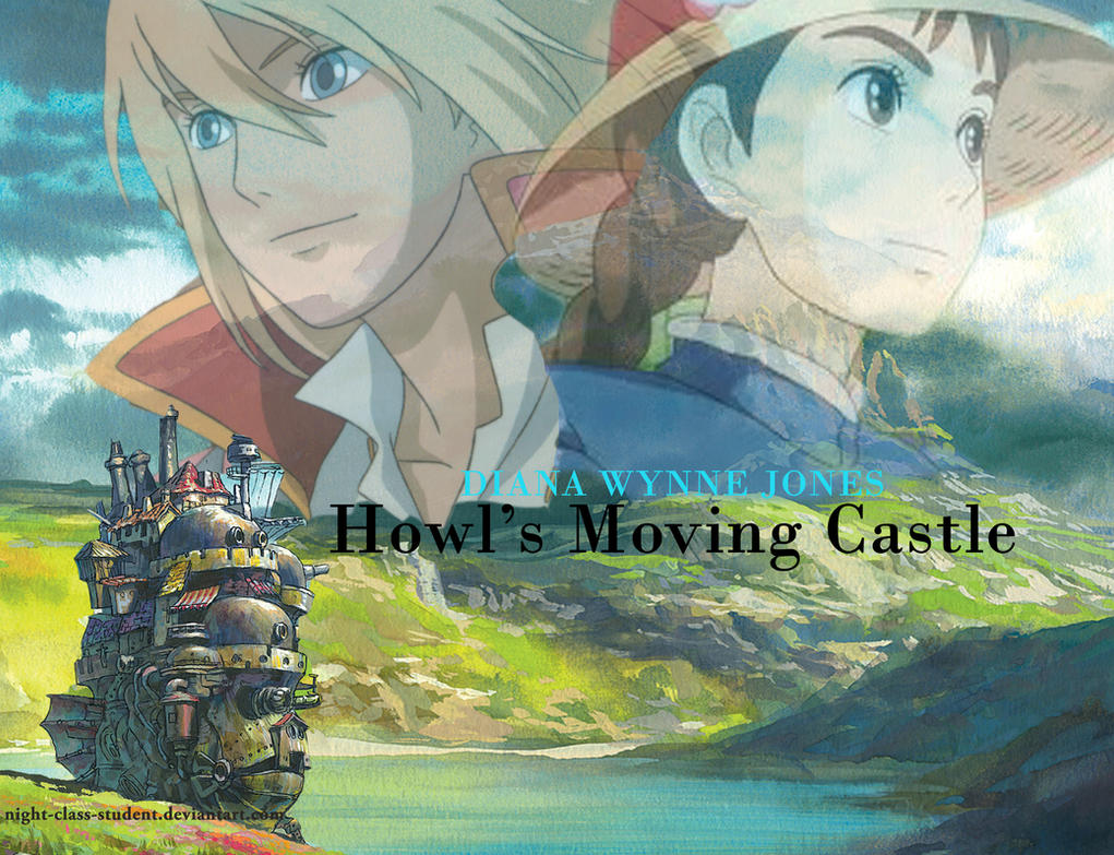 Howl's Moving Castle Poster By Night-class-student On