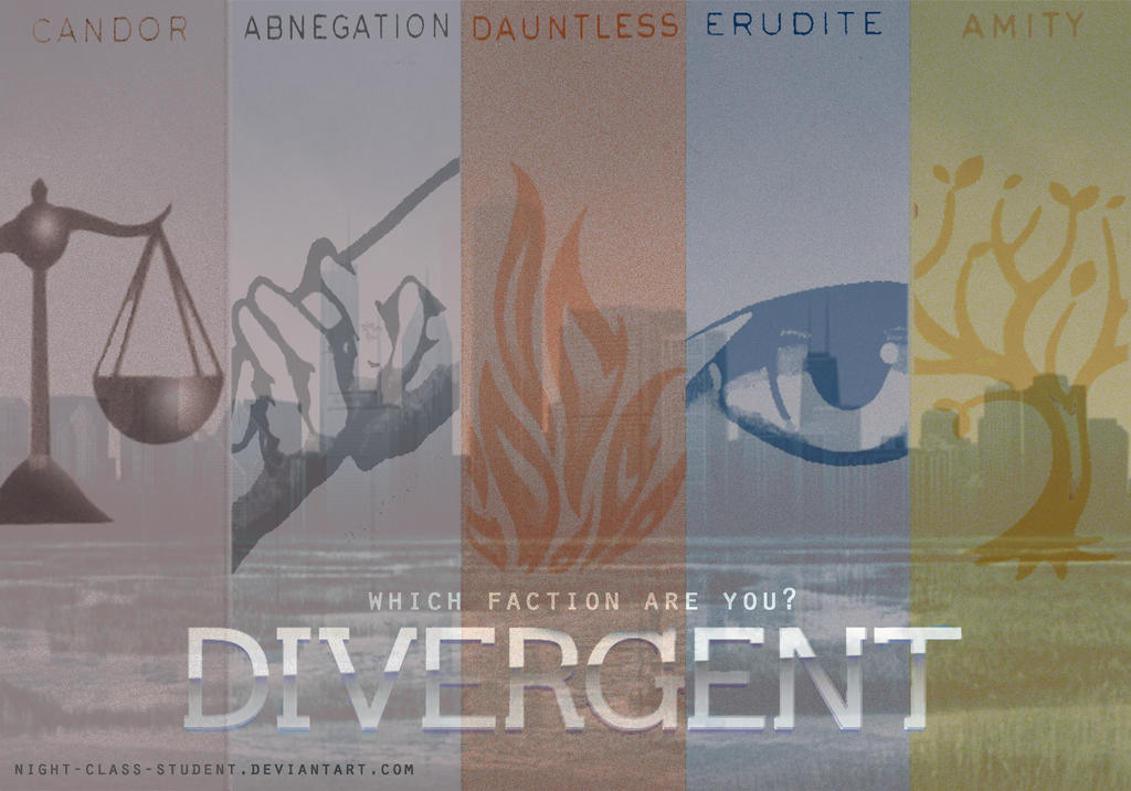 Divergent Factions Wallpaper Which faction are you? by
