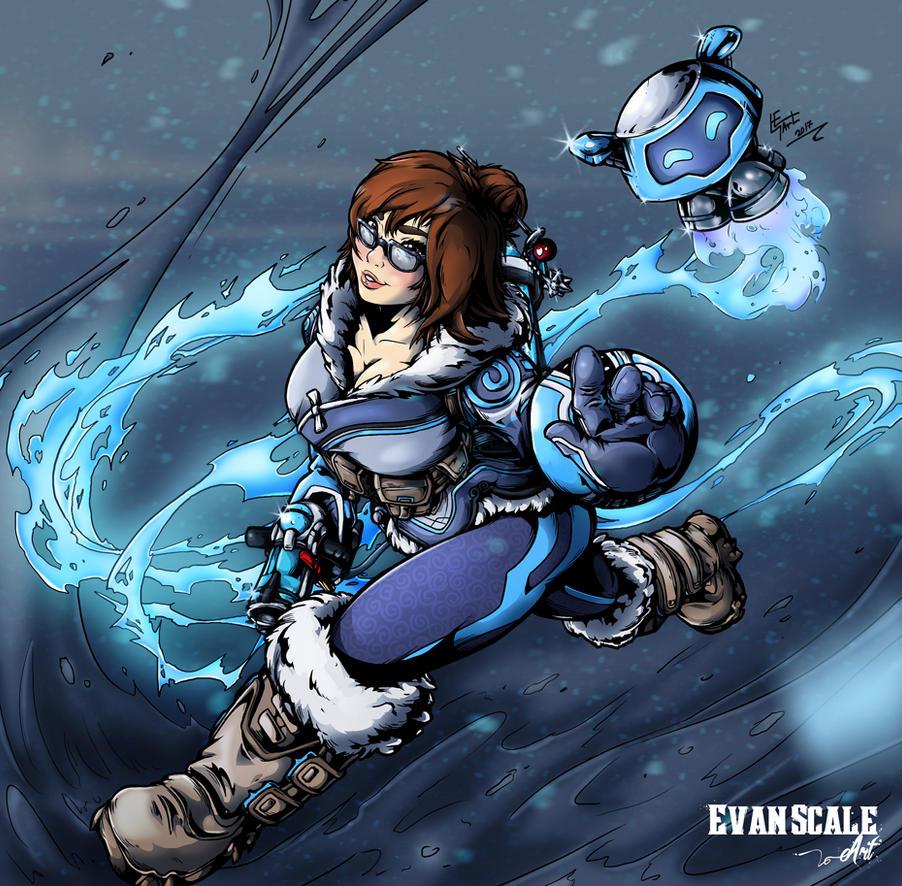 Overwatch-Mei by Art-by-Evan