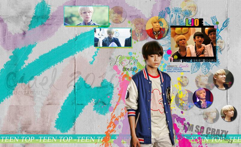 teen wallpaper. TEEN TOP L.JOE Wallpaper by