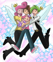 Color - Fairly OddFamily by lilavulpes