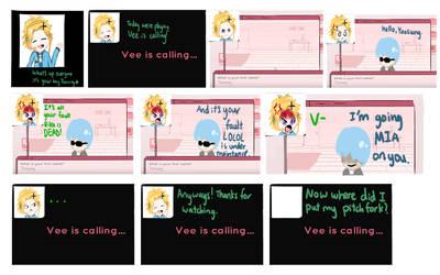 Vee is calling by Neko-Llama