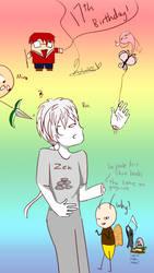 17th Birthday by Neko-Llama