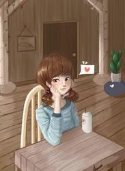 Lila's Coffee by Neko-Llama
