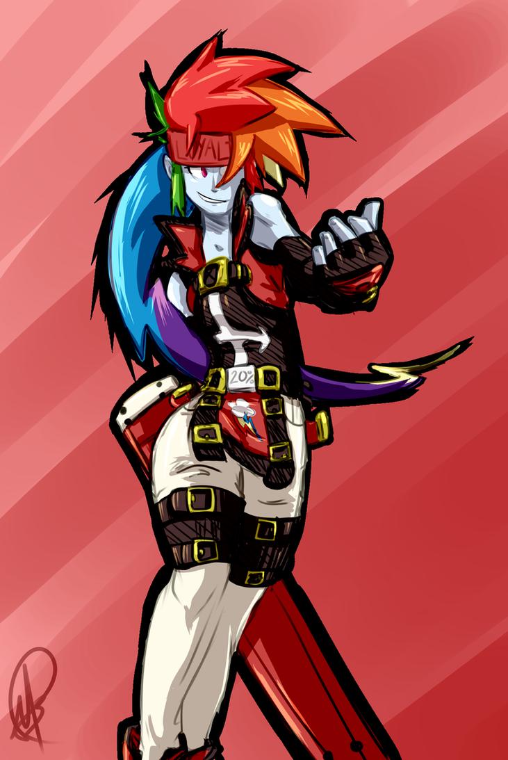 Dash Badgirl? (aka Equestria Gears) by manic-the-lad