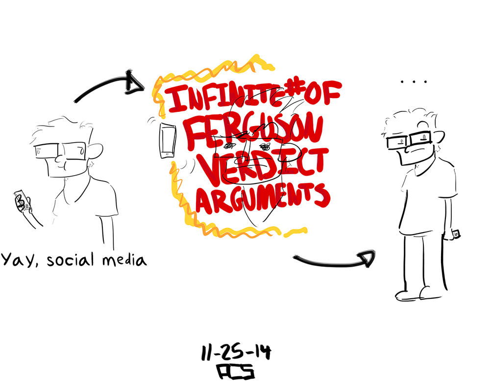 Ferguson-Related Internet Explosion by ACSilva