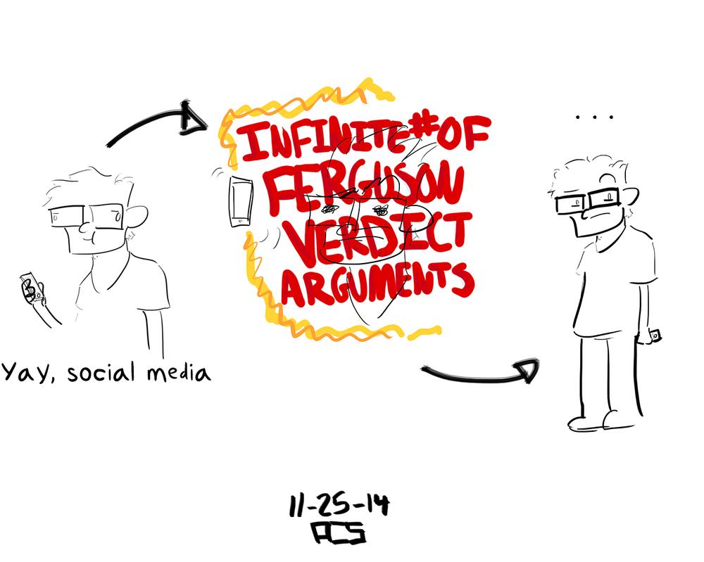 Ferguson-Related Internet Explosion by ACSilva