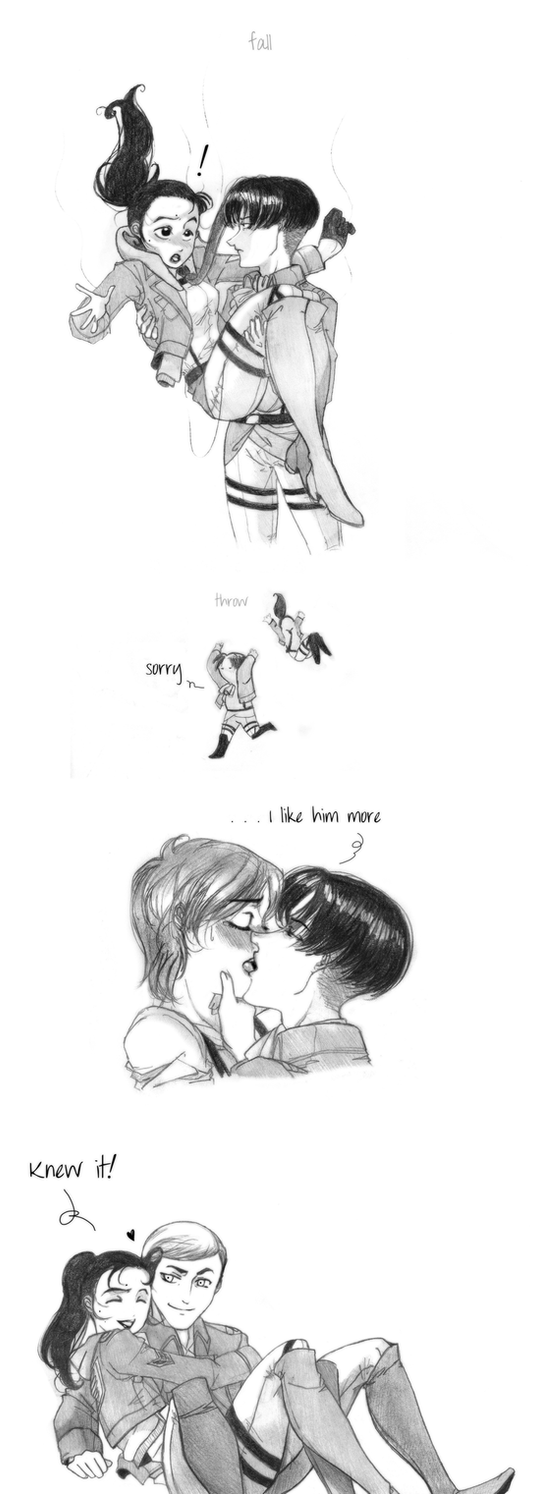 I like him more (Riren) by conejogalactiko
