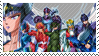 God Warriors Stamp by conejogalactiko
